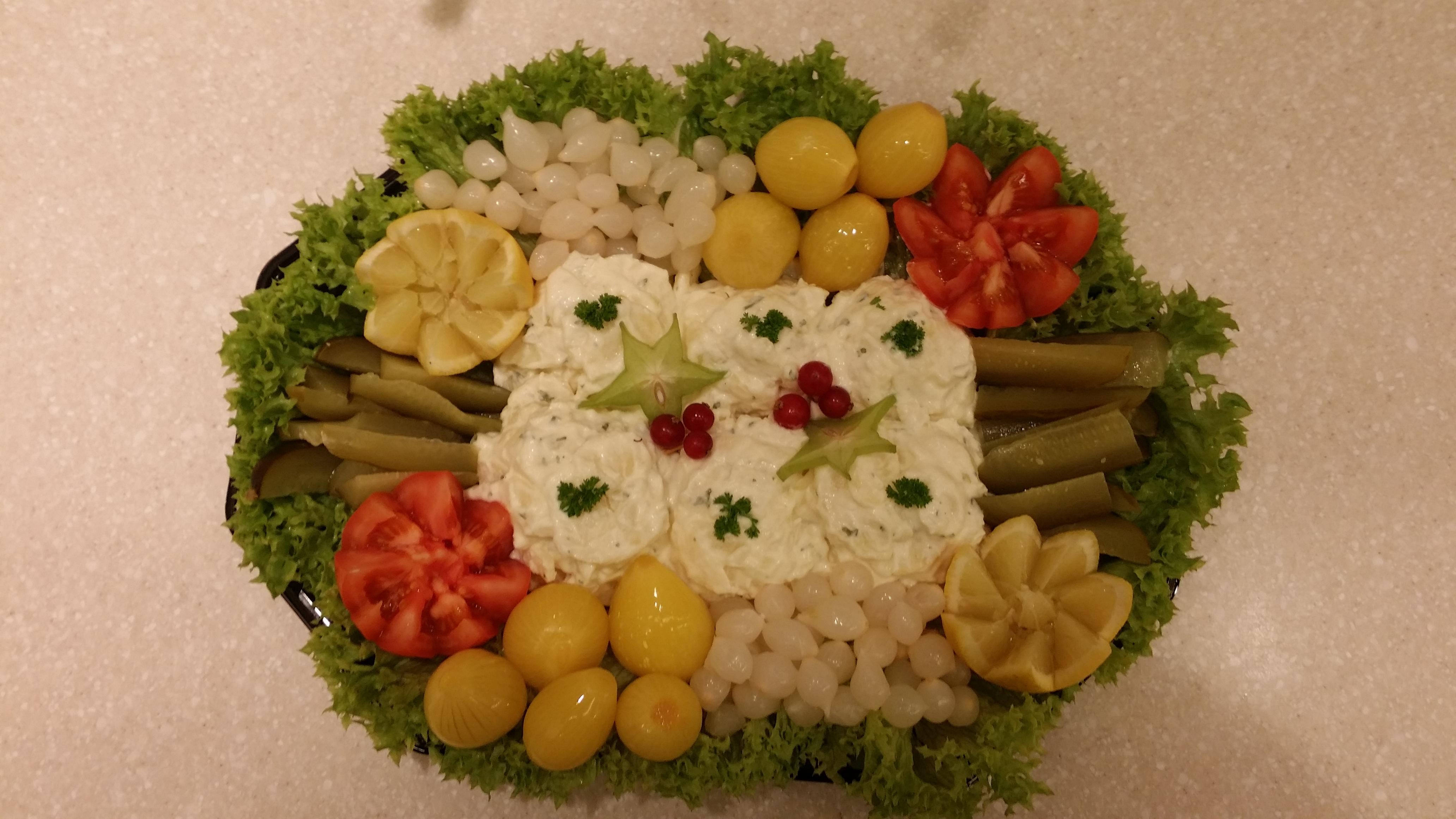 Aardappelsalade schotel